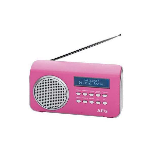 Радиоприемник AEG DAB 4130 pink