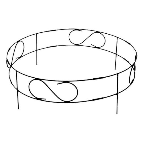Заборчик для клумбы PARK 4 секций (072102)