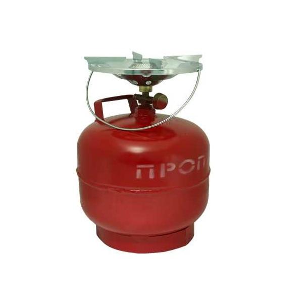 Комплект газовый Россия Кемпинг ПГТ 1Б-В (баллон 8 литров)