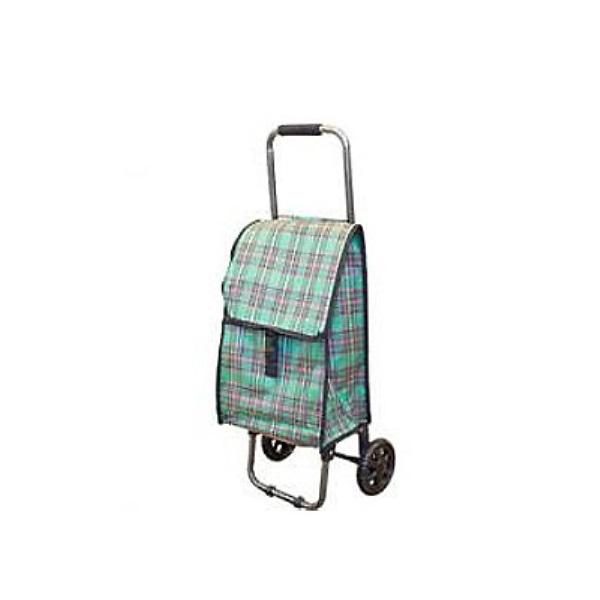 Тележка-сумка D203 Клетка