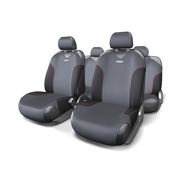Авточехлы-майки AUTOPROFI FOR-802 BK/D.GY