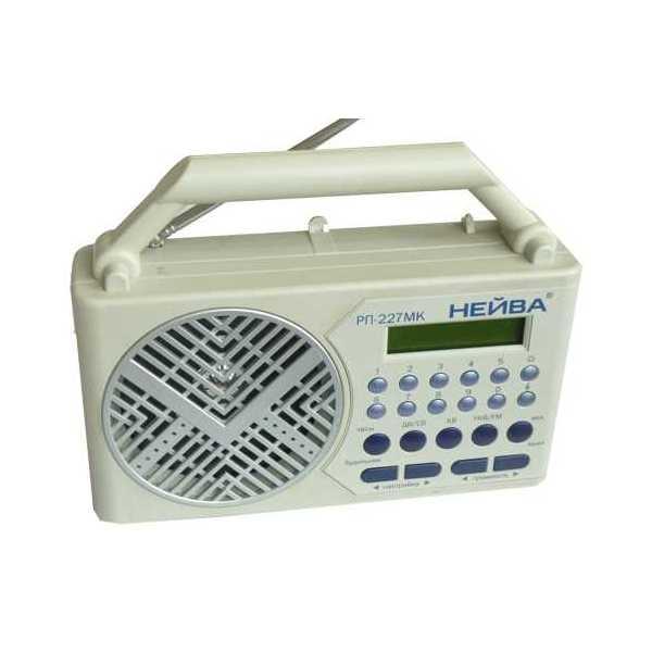 Радиоприёмник Нейва РП-227 МК