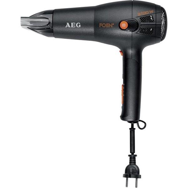 Фен AEG HT 5650 schwarz ionic