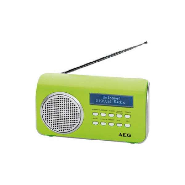Радиоприемник AEG DAB 4130 grun