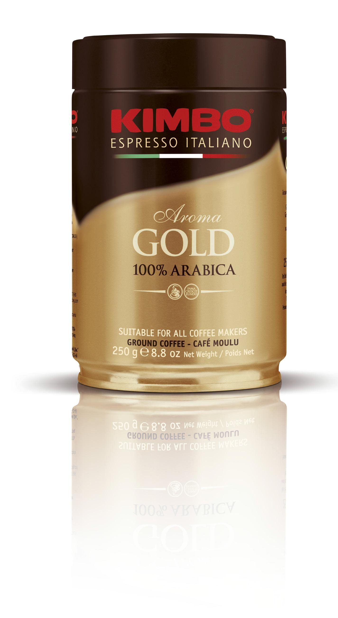 ���� ������� Kimbo Aroma Gold 100% Arabica 250 �� �/���