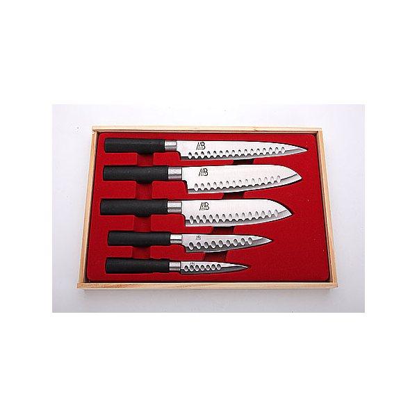 Набор ножей (5пр) MB в дер/кор (х12) 4135