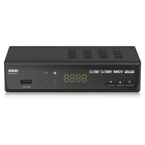 Телевизионный ресивер BBK SMP244HDT2