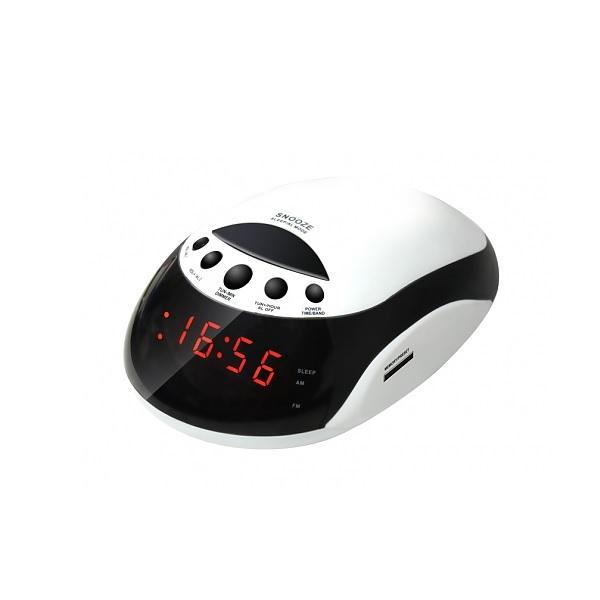 Радио-часы Rolsen CR-160W