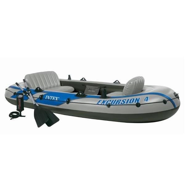 Лодка INTEX Excursion-4 SET 68324