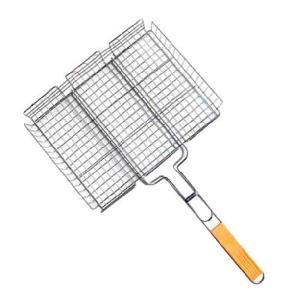 Решетка-гриль IRIT IRG-404 (сталь) объемная