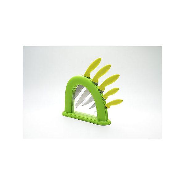 Набор ножей сил/руч + подставка МВ (х6) 22542