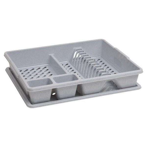 Сушилка для посуды CURVER 13401-119 серая