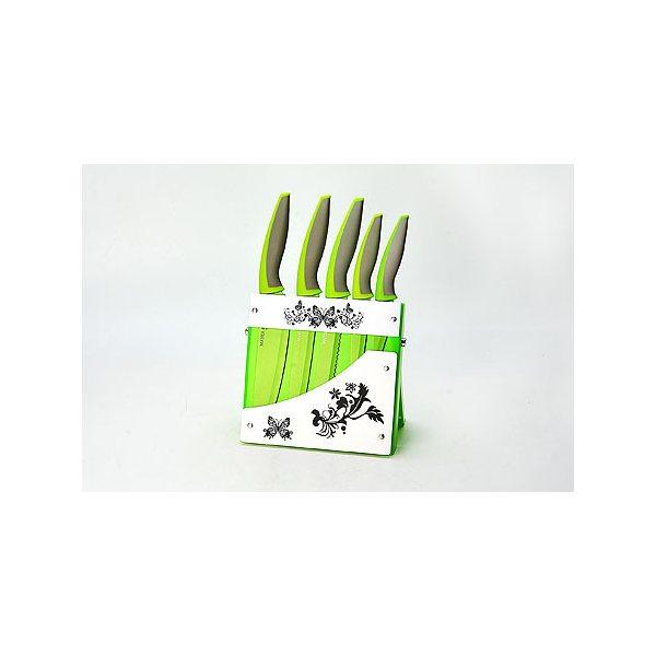 Набор ножей 6 пр сил/руч на подставк МВ (х8) 21633