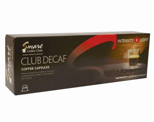 Капсулы Smart Coffee Club Decaf 10шт