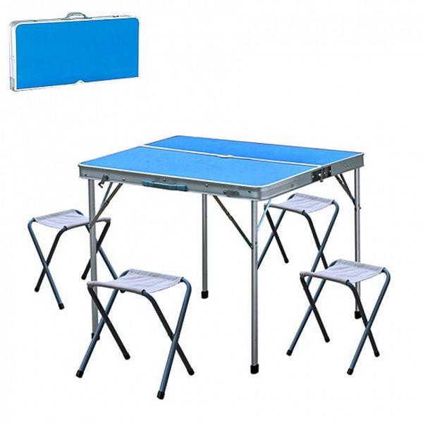 Стол складной 4 стула Delta НТО6-0039/5