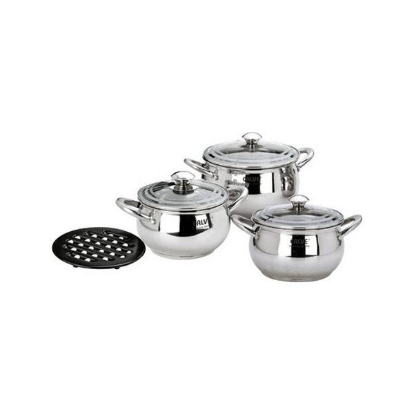 Набор посуды 7 предметов CALVE CL-1095