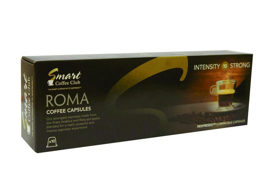 Капсулы Smart Coffee Club Roma 10шт