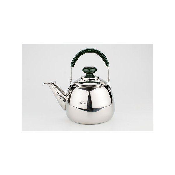 Заварочный чайник мет. SK 1л с фильтр 14см 1107