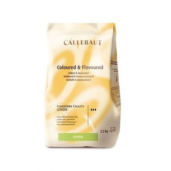 Шоколад Шоколад Зеленый со вкусом лимона Callebaut 2,5 кг