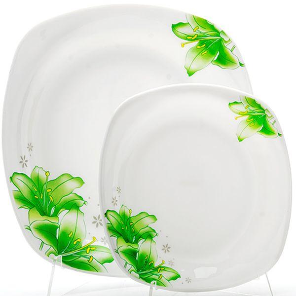 Набор тарелок 7пр стелко-керамика Sterlingg LR (х6) 23689