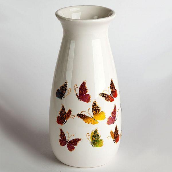 """Ваза для цветов Delta """"Бабочки"""" ДБ0023-56"""