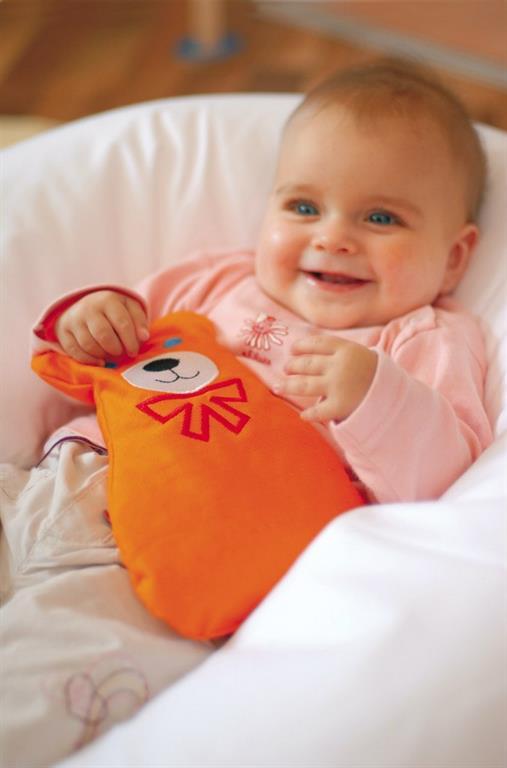 Игрушка грелка для новорожденных своими руками